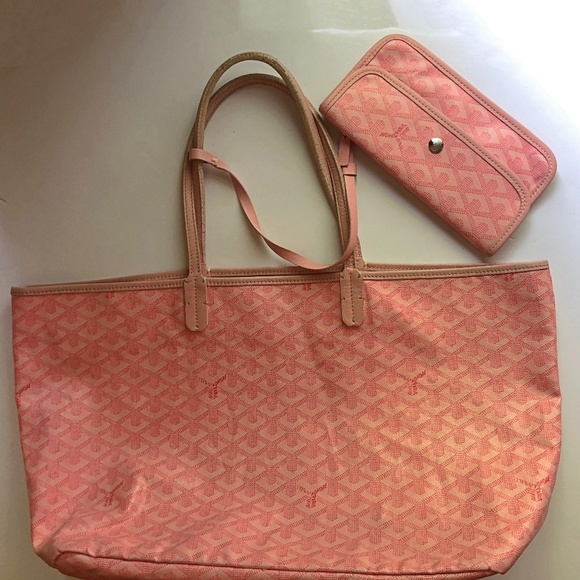 GOYARD Limited Edition St. Louis PM Tote Pink